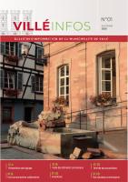 Bulletin d'information de la municipalité de Villé (67)