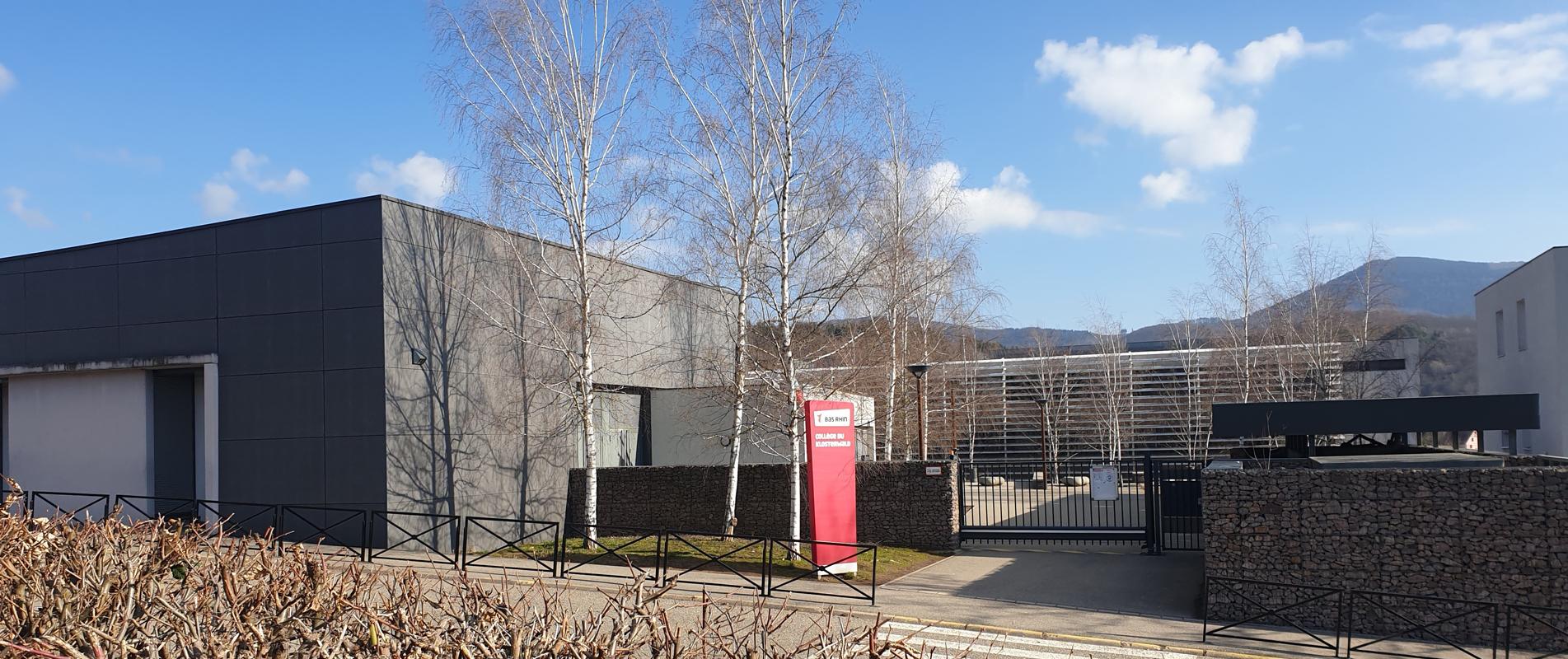 Collège du Klosterwald à Villé (67)