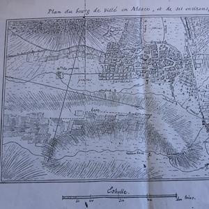 Survol historique de Villé (67)