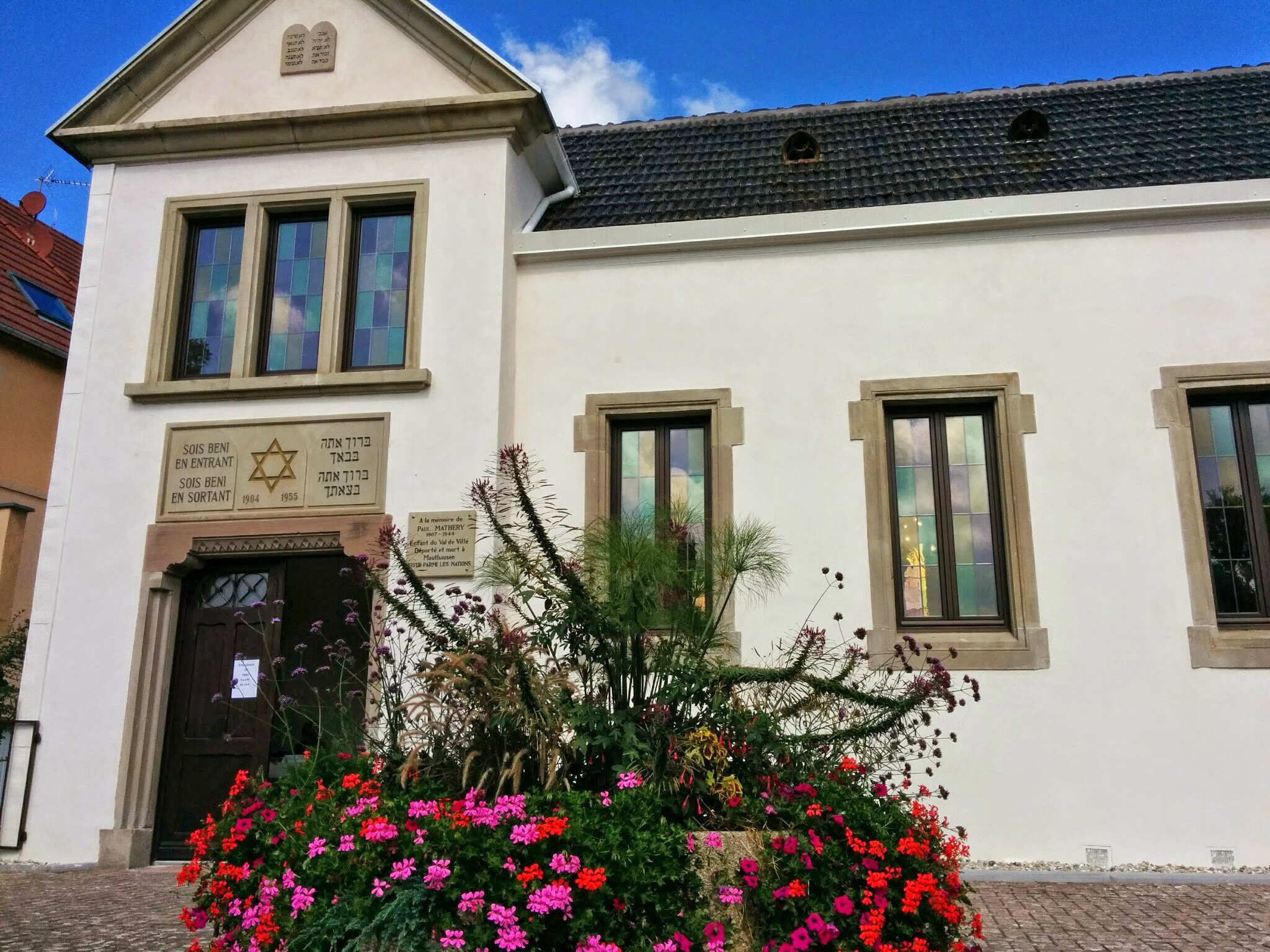 Synagogue à Villé (67)