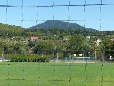Terrain de football à Villé (67)